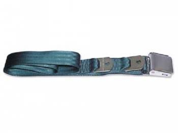 Route 66 Reproductions - Rear Seat Belts Dark Green - Image 1