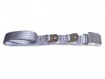 Route 66 Reproductions - Rear Seat Belts Gray - Image 1