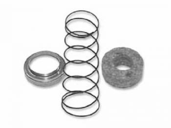 East Coast Reproductions - Lower Steering Column Felt Seal and Spring - Image 1