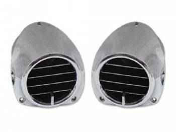 Unfair Advantage Reproductions - Factory AC Dash Vents - Image 1