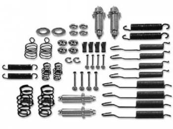 Shafer's Classic Reproductions - Brake Hardware Kit (Does all 4 Wheels) - Image 1