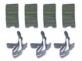 East Coast Reproductions - Long Brake Line Clips - Image 1