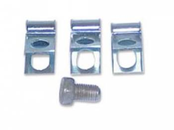 Shafer's Classic Reproductions - Front Brake Line Clips (Bolt-on Style) - Image 1