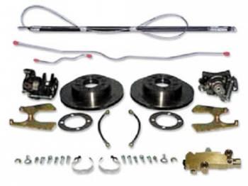 H&H Classic Parts - 4-Wheel Disc Brake Upgrade Kit
