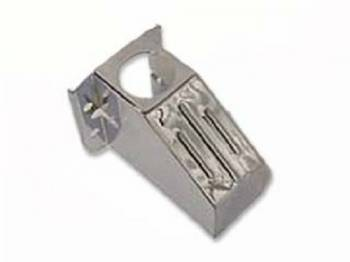 DKM Manufacturing - Chrome Master Cylinder Cover Ribbed - Image 1