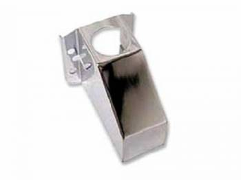 DKM Manufacturing - Chrome Master Cylinder Cover Plain - Image 1