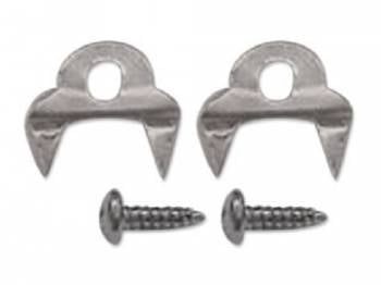 Route 66 Reproductions - Door Seal Retainer Clips - Image 1