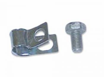 Shafer's Classic Reproductions - Gas Line Clip at Front on Frame - Image 1