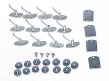 East Coast Reproductions - Door Molding Clip Set - Image 1