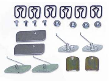 East Coast Reproductions - Door Molding Clip Set - Image 1
