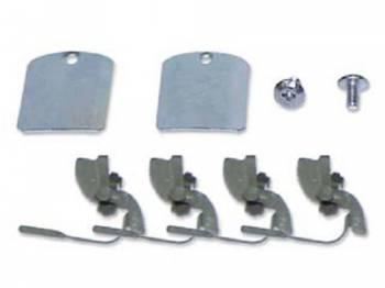 East Coast Reproductions - 4-Door Adapter Clip Set - Image 1