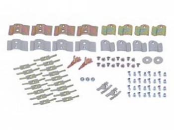 East Coast Reproductions - Upper/Lower Molding Clip Set (with End Clips) - Image 1