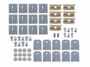 East Coast Reproductions - Lower Belt Molding Clip Set - Image 1
