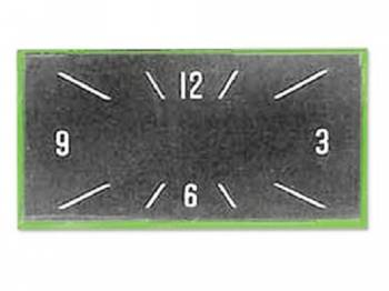 Trim Parts USA - Clock Face Lens - Image 1