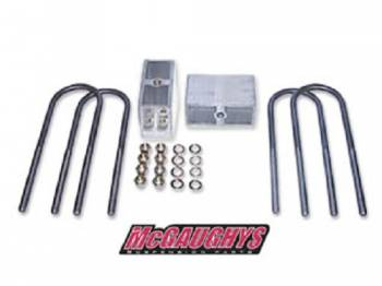 "Classic Performance Products - 3"" Rear Lowering Blocks with U-Bolts - Image 1"