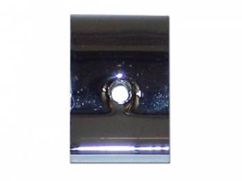 DKM Manufacturing - Interior Windshield Garnish Molding Connector Chrome - Image 1