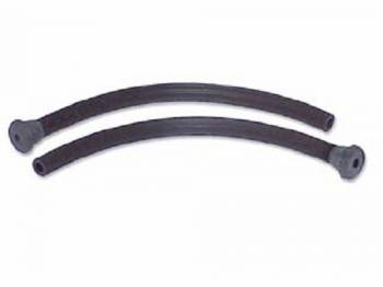 DKM Manufacturing - Rear Window Drain Seals (Replacement) - Image 1