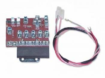 H&H Classic Parts - Fuse Panel with Power Feed Harness - Image 1