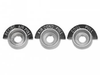Trim Parts USA - AC Control Bezels - Image 1