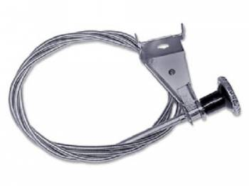 H&H Classic Parts - Cowl Air Vent Cable LH - Image 1