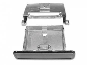 H&H Classic Parts - Ash Tray Assembly with Black Face - Image 1