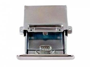 H&H Classic Parts - Ash Tray Assembly with Chrome Face - Image 1