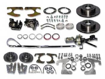 H&H Classic Parts - 4-Wheel Disc Brake Conversion Kit - Image 1