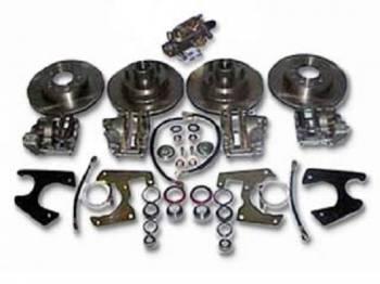 H&H Classic Parts - 4-Wheel Disc Brake Conversion Kit - Image 1