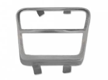 H&H Classic Parts - Emergency Brake Pedal Pad Deluxe Trim - Image 1