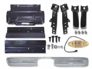 H&H Classic Parts - Rear Chrome Bumper Kit - Image 1