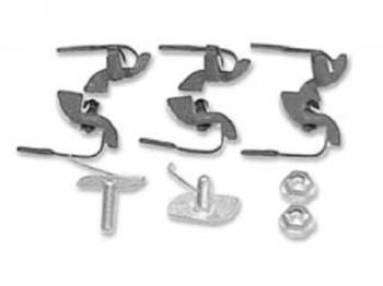 H&H Classic Parts - Tailgate Molding Clip Set - Image 1