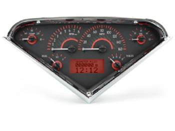 Dakota Digital - Dakota Digital VHX Gauge System Carbon Fiber Red - Image 1