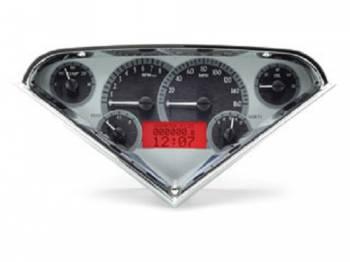 Dakota Digital - VHX Series Silver Alloy Red - Image 1