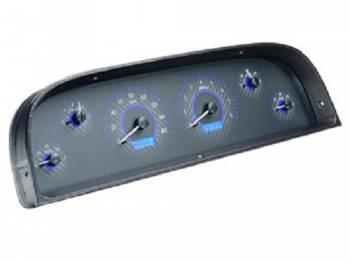 Dakota Digital - Dakota Digital VHX Gauge System Carbon Fiber Blue - Image 1