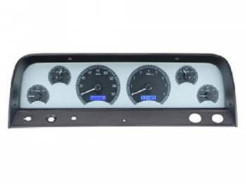 Dakota Digital - VHX Series Silver Alloy Blue - Image 1