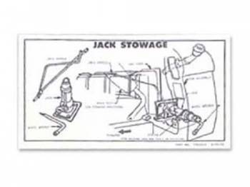 Jim Osborn Reproductions - Jack Instrumentruction Decal - Image 1