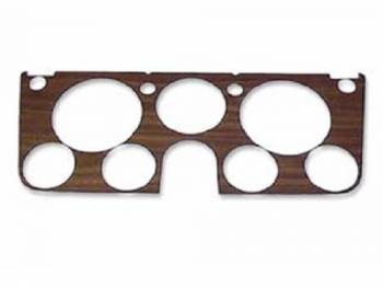 H&H Classic Parts - Woodgrain Dash Decal with Gauges - Image 1