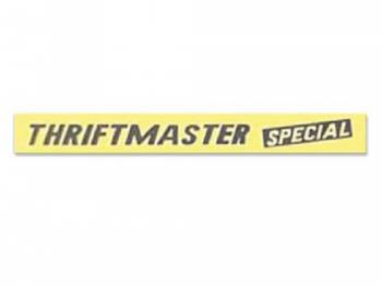 Jim Osborn Reproductions - ThriftMaster Special Valve Covers Decal - Image 1