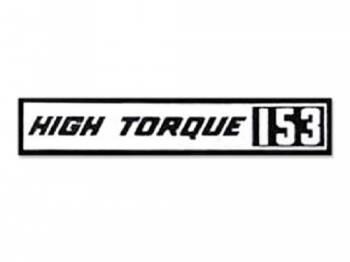 Jim Osborn Reproductions - HI-Torque 153 Valve Covers Decal - Image 1