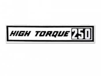 Jim Osborn Reproductions - HI-Torque 250 Valve Covers Decal - Image 1