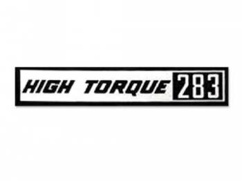 Jim Osborn Reproductions - HI-Torque 283 Valve Covers Decal - Image 1