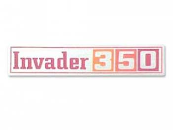 Jim Osborn Reproductions - GMC Invader 350 Valve Covers Decal - Image 1