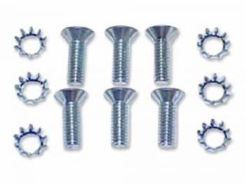 H&H Classic Parts - Door Latch Mechanism Screw Set - Image 1