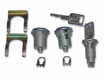 PY Classic Locks - Door & Ignition Locks with Keys - Image 1