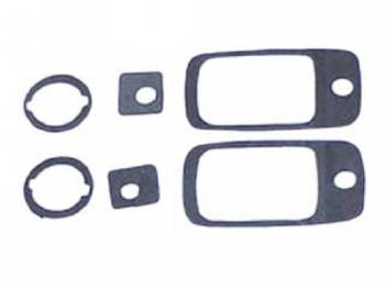 H&H Classic Parts - OutSide Door Handle Gaskets - Image 1