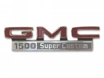 Trim Parts - Fender Emblems 1500 Sierra Custom - Image 1