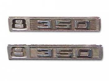 Trim Parts - Fender Emblems V8 350 - Image 1