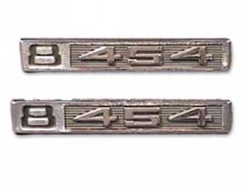Trim Parts - Fender Emblems V8 454 - Image 1