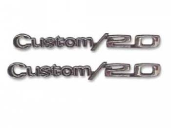 H&H Classic Parts - Fender Emblems Custom 20 - Image 1