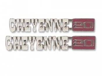 H&H Classic Parts - Fender Emblems Cheyenne 20 - Image 1